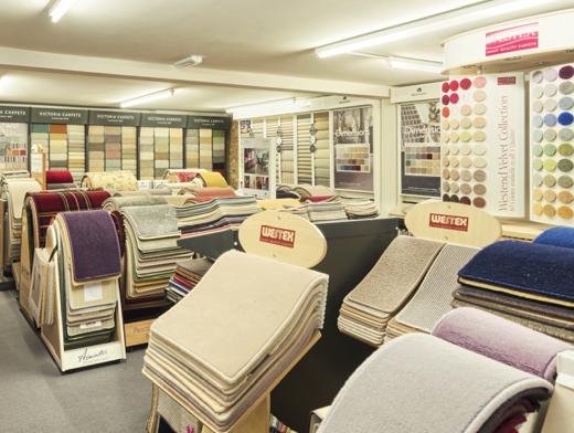 m-mcarpets showroom